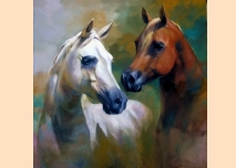 Portrait of a horses - 3