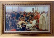 ''Reply of the Zaporozhian Cossacks'' - Ilya Repin