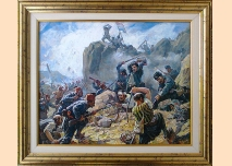 ''Battle of Shipka'' - Dimitar Gyudzhenov