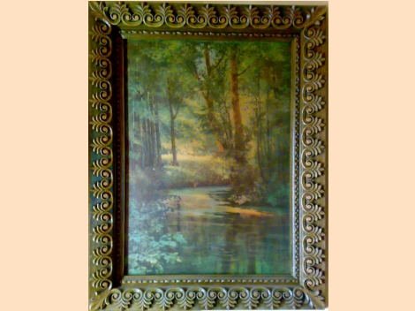 Picture frame, wood-carving – 3