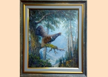 Capercaillie - painting
