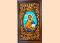 Icon Jesus Christ Pontocrator