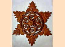 Rosette – decoration for a ceiling or a wall