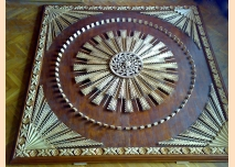 Sun-shaped carving, ceiling decoration - 2