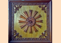 Wood carving – ceiling decoration